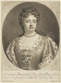 Queen Anne, by John Smith, after  Sir Godfrey Kneller, Bt - NPG D7770
