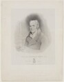 William Stevenson, by William Sharp, printed by  Day & Haghe, after  Horatio Beevor Love, after  William Hilton - NPG D7840