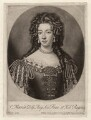 Mary of Modena, by and published by John Smith, after  Sir Godfrey Kneller, Bt - NPG D7857