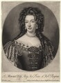 Mary of Modena, by John Smith, after  Sir Godfrey Kneller, Bt - NPG D7858