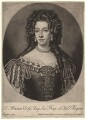 Mary of Modena, by and published by John Smith, after  Sir Godfrey Kneller, Bt - NPG D7861