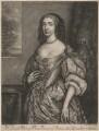 Mary, Princess of Orange, by William Faithorne Jr, after  Adriaen Hanneman - NPG D7874