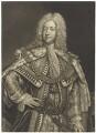 King George II, by John Faber Jr, after  Joseph Highmore - NPG D7909