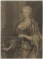 Caroline Wilhelmina of Brandenburg-Ansbach, by John Faber Jr, after  Joseph Highmore - NPG D7913