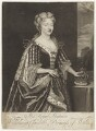 Caroline Wilhelmina of Brandenburg-Ansbach when Princess of Wales, by John Faber Jr, after  Sir Godfrey Kneller, Bt - NPG D7917