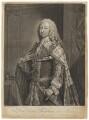 Frederick Lewis, Prince of Wales, by John Faber Jr, after  Jeremiah Davison - NPG D7920