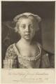 Princess Louisa Anne, by Richard Houston, after  Jean Etienne Liotard - NPG D7933