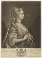 Anne, Princess Royal and Princess of Orange, by and sold by John Faber Jr, after  Philip Mercier - NPG D7949