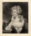 Jane Braddyll (née Gale), by W. Joseph Edwards, after  Sir Joshua Reynolds - NPG D798