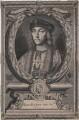 King Henry VII, by Peter Vanderbank (Vandrebanc), after  Edward Lutterell (Luttrell) - NPG D7990