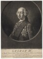 King George III, by Richard Houston, after  Henry Robert Morland - NPG D7994