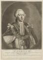 King George III, by Richard Houston, after  Henry Robert Morland - NPG D7995