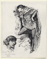 Sir Henry Irving as Count Tristan in 'Iolanthe', by Harry Furniss - NPG D80