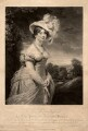 Princess Augusta Sophia, by Samuel William Reynolds, and by  Samuel Cousins, after  Sir William Beechey - NPG D8017