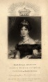 Princess Augusta Wilhelmina Louisa, Duchess of Cambridge, by William Say, published by  Whittaker & Co, after  Alfred Edward Chalon - NPG D8035