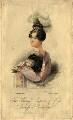 Princess Augusta Wilhelmina Louisa, Duchess of Cambridge, by James Thomson (Thompson), published by  Dean & Munday, after  John Partridge - NPG D8036