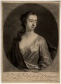 Elizabeth Egerton (née Churchill), Countess of Bridgewater, by John Simon, printed and sold by  Robert Sayer, after  Michael Dahl - NPG D810