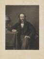 (Paul) Julius de Reuter, Baron de Reuter (né Israel Beer Josaphat), by Thomas Oldham Barlow, after  (Wilhelm Augustus) Rudolf Lehmann - NPG D8103