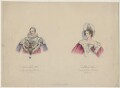 King William IV; Queen Adelaide (Princess Adelaide of Saxe-Meiningen), published by T. Bird, published by  Rudolph Ackermann, published by  Charles Tilt - NPG D8129