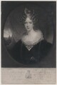 Queen Adelaide (Princess Adelaide of Saxe-Meiningen), by Thomas Goff Lupton, after  Sir William Beechey - NPG D8130