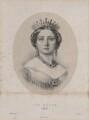 Queen Victoria, by John Alfred Vinter, after  Franz Xaver Winterhalter - NPG D8167