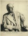 Sir (John) George Beharrell, by Malcolm Osborne - NPG D8171