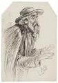 Unknown man, by Alfred Bryan - NPG D8187