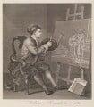 William Hogarth, by William Hogarth - NPG D8195