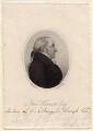 John Harriott, by Henry Richard Cook, after  H. Herve - NPG D8208
