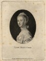 Lady Mary Coke (née Campbell), by Edward Harding, published by  William Bawtree, after  Silvester Harding, after  Allan Ramsay - NPG D8220