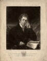 John Broster, by Thomas Hodgetts, published by  Archibald Constable & Co, published by  William Blackwood, published by  Hurst, Robinson & Co, after  John Syme - NPG D827