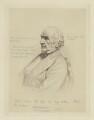 William Ewart Gladstone, by W(?) Burton, after  Unknown photographer - NPG D8332