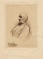 William Ewart Gladstone, by W(?) Burton, after  Unknown photographer - NPG D8334