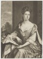 Queen Anne when Princess of Denmark, by John Smith, after  Sir Godfrey Kneller, Bt - NPG D8369