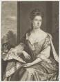 Queen Anne when Princess of Denmark, by John Smith, after  Sir Godfrey Kneller, Bt - NPG D8369