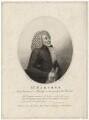 William Parsons as Alscrip, by James Parker, published by  Edward Harding, after  Silvester Harding - NPG D8431
