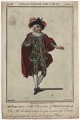 William Parsons as Periwinkle in 'A Bold Stroke for a Wife', by James Roberts - NPG D8436