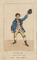 Edward Knight as dressed in character at the Drury Lane Coronation, after Unknown artist - NPG D8447
