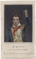 Edward Knight as Robin Roughead in Allingham's 'Fortune's Frolic', by Thomas Woolnoth, published by  Simpkin and Marshall, published by  Clement Chapple, after  George Clint - NPG D8449