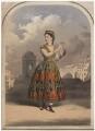 Adelina Patti as Esmeralda, printed by M & N Hanhart - NPG D8458