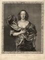Elizabeth (née Brydges), Countess Castlehaven, by Pierre Lombart, after  Sir Anthony van Dyck - NPG D8463