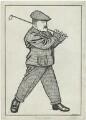John Henry Taylor, by Powys Evans - NPG D8469