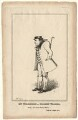 James Pimbury Wilkinson as Hookey Walker in Pindar's 'Walk for a Wager', by (Isaac) Robert Cruikshank - NPG D8511