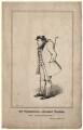 James Pimbury Wilkinson as Hookey Walker in Pindar's 'Walk for a Wager', by (Isaac) Robert Cruikshank - NPG D8512