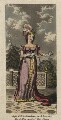 Mary Ann Paton (Mrs Wood) as Mandane in 'Ataxerxes', by Charles Hunt - NPG D8523