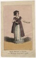 Mary Ann Paton (Mrs Wood) as Lydia in 'Morning, Noon & Night', by J. Findlay - NPG D8529