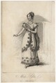 Mary Ann Paton (Mrs Wood) as Amazitli, by A. Easto, after  Thomas Charles Wageman - NPG D8530