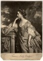Frances (née Fowler), Lady Bridges, by Elizabeth Judkins, printed for  Robert Sayer, after  Francis Cotes - NPG D856