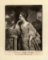 Frances (née Fowler), Lady Bridges, by Elizabeth Judkins, printed for  Robert Sayer, after  Francis Cotes - NPG D857