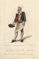 Henry Gatti as Monsieur Marbleu in Moncrieff's 'Monsieur Tonson', by Robert Cooper, published by  Henry Berthoud, after  Michael William Sharp - NPG D8587
